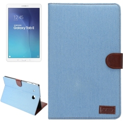 2015 new product Denim Texture Leather case cover for Samsung galaxy tab E 9.6 T560