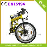 """2014 new 26"""" folding electric mountain bike OEM ebike"""