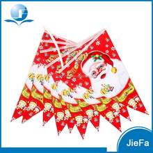Christmas Party PE/Paper Banner Pennant String Flag Bunting