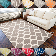 2016 new modern living room morrocan trellis area rug