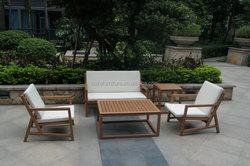Teak wooden color plastic wood sofa furniture garden outdoor