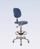Economy line artificial leather height adjustable Laboratory chairs/laboratory accessories