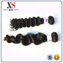 Finest quality premium brazilian virgin hair body wave 7a synthetic hair scrunchies