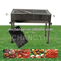 portable thickening charcoal bbq grill adjustable height