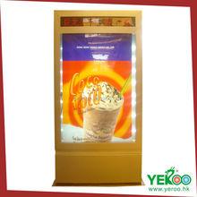 Yeroo Solar power advertising light box display advertising light box
