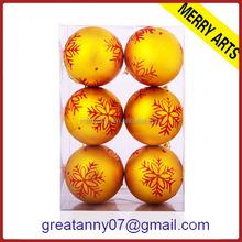 wholesale clear plastic ball christmas ornaments led solar christmas ball light