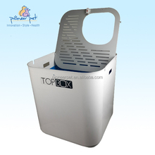 The Ultimate Top box / Modern design Cat Litter box/White color