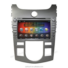 for CERATO/FORTE 2008-2012 car dvd gps navigation support 3g wifi / radio /ipod android