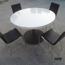 latest design modern round extending dining table