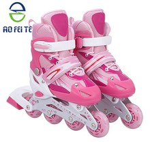 China supplier professional durable kids inline roller skate with semi-soft boot for wholeslae