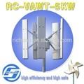 Novo! 5kw eixo vertical de vento gerador da turbina/turbina eólica/melhores equipamentos de energia na china