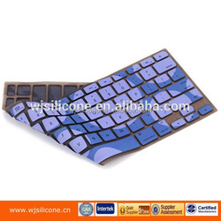 silicone case for laptop keyboard, silicone computer keyboard case