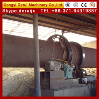 EAF dust rotary kiln for making zinc ingot