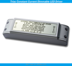 Single output type 30w Triac Dimmable Led driver CC and CV. shenzhen led driver manufacture, high quality and factory price