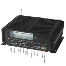 Fanless industrial PC for POS machine (LBOX-GM45),intel core 2 duo CPU / DDR3 2G / SSD 16G / 2 PCI slot
