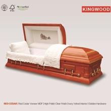 RED CEDAR casket lining and casket interiors fabrics best China supplier