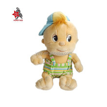 China wholesale fashion dressed plush baby toys