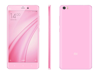 beautiful ladies mobile phone 5.7 inch 13MP 3GB RAM 16GB ROM Snapdragon 801 Quad Core Dual Sim 4G Pink Xiaomi Note Mobile Phone