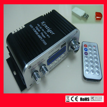 car amplifier DC 12V with USB bluetooth Dongle