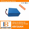 Factory direct saling, big capacity UPS battery, 48V16Ah lithium ion battery pack