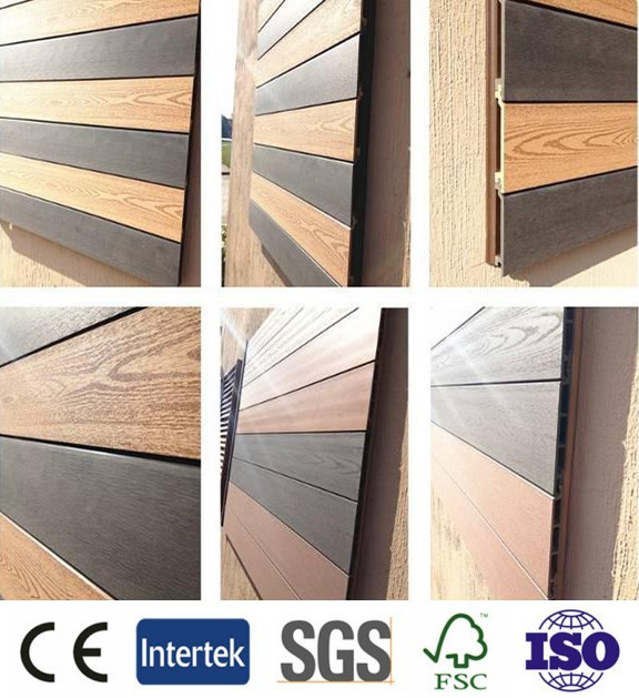 Decorative Wall Panels Outdoor : Outdoor wpc wall panels decorative