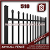 hight quality decorative metal picket fence for building