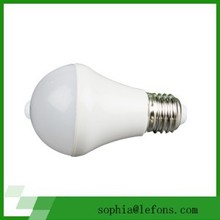 led PIR sensor bulb with our own design but can put on your logo