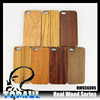 Soft Wood Material Back cell phone housing Case Cover for iphone 6 plus