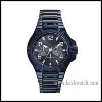 Brands Men's Rigor Black Ion Plated W0041G2 Watch,stainless steel case watches with japanese Quartz