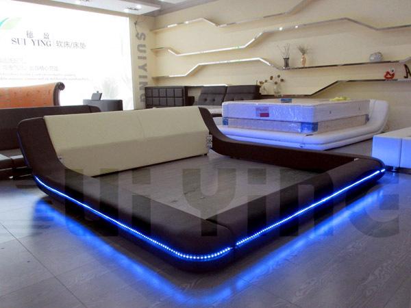 Unique led beds retail available a538 view led beds - Unique headboards for sale ...