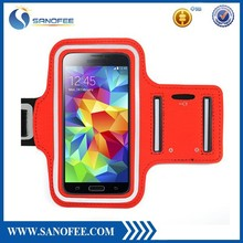 0.3mm neoprene sport armband for running phone armband case