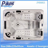 Garden free sex tv hot tub spa whirlpool outdoor two lounger hot tub