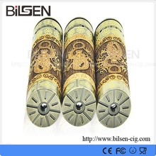 the cheapest electronic cigarette price bottom button switch 26650 wooden vaporizer pen