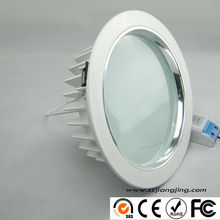 10-60W 3 colors in one fitting dimmable led downlight CE RoHS