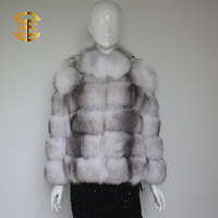 Hot Fashion Classic Garment Ladies Fox Fur Coat For Women And Girls Fur Coat