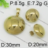 For new fashion gold jewelry prongs