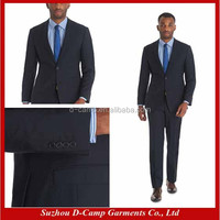 MBS-117 Navy office uniform style 2-piece uniforms styles for office tailored suit