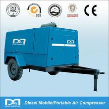 10m3/min 13bar Portable Diesel Rotary Screw Air Compressor for Concrete Breaker