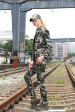 New design outdoor women camouflage hunting jacket