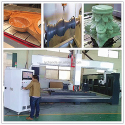 Cnc machine carving rocks / 5 axis cnc stone routing and cutting machine