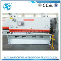qc11k 2500mm plate length carbon steel shear machine specification