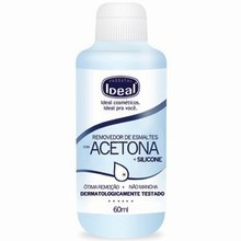 Acetone Based Remover with Silicone - 60ml