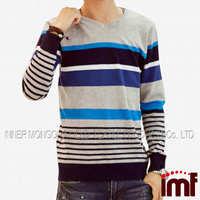 High Quality Cashmere Sweater Korean Style Fashion Men