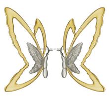 DG-8004 butterfly design front door handles and locks
