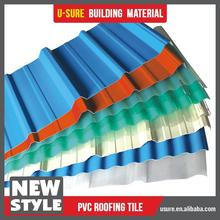 chinese popular one piece pvc roof tile roof types roofing