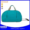 Alibaba travel culbs sport leisure rolling duffel bag top quality trolley bag for 2015