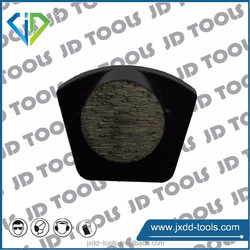 Redi lock diamond tool grinding plate for concrete grinders