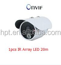 IR Array Led 20M H.264 Professional IP Camera1080P Wide Dynamic Range