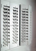 automatic security basswood window roller shutter