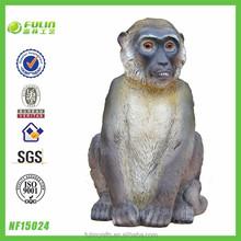 Decorative Art and Craft Resin Garden Monkey